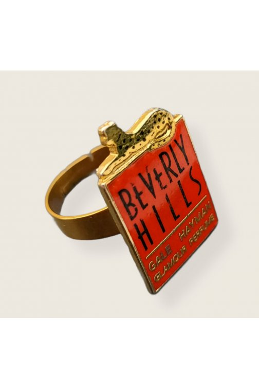 Upcycled Beverly Hills ring