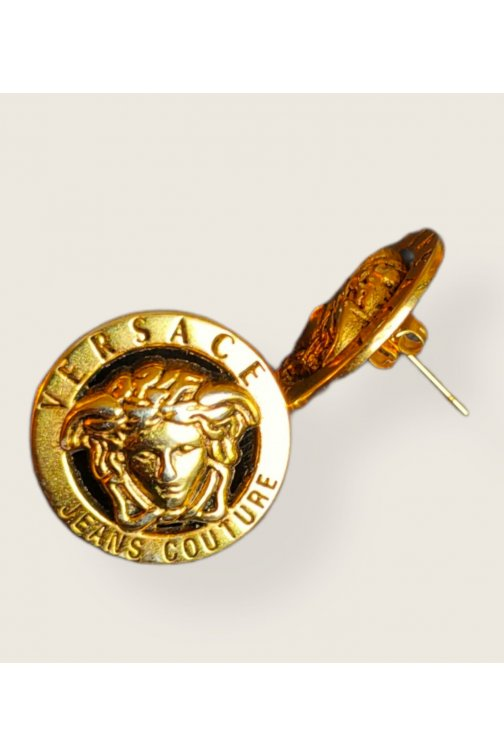 Upcycled Versace Earring