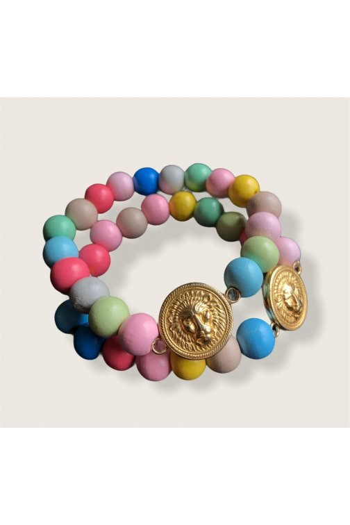Upcycled Versace bracelet...