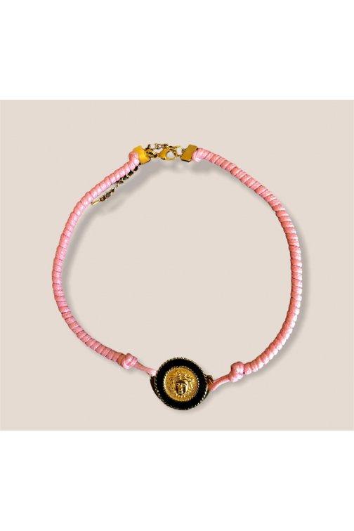 Pale pink choker necklace...