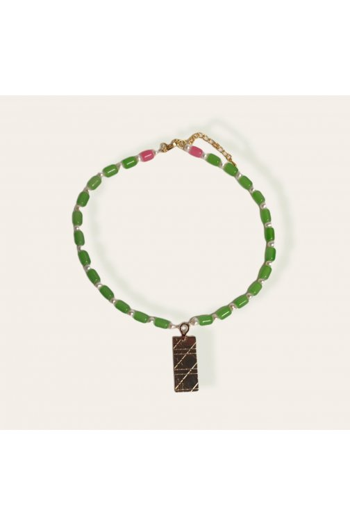 Bicolor nechklace with...