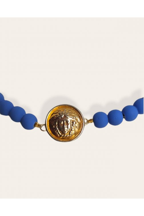 Matt Klein blue necklace...